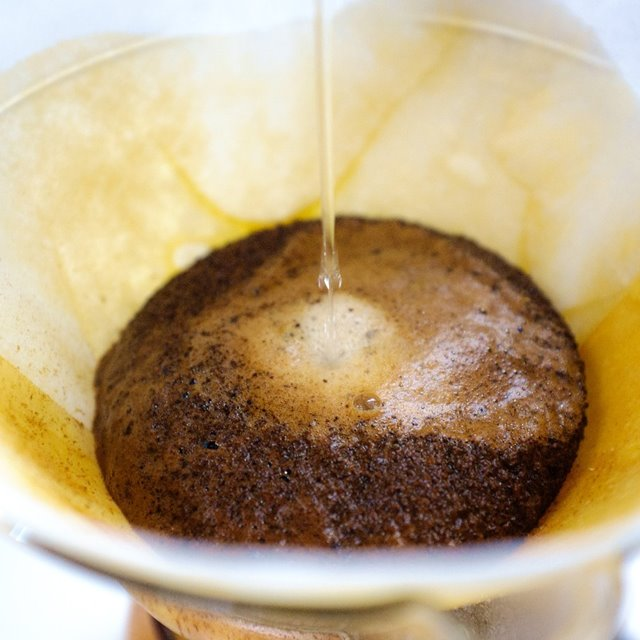 Endurnýt kaffigruggið