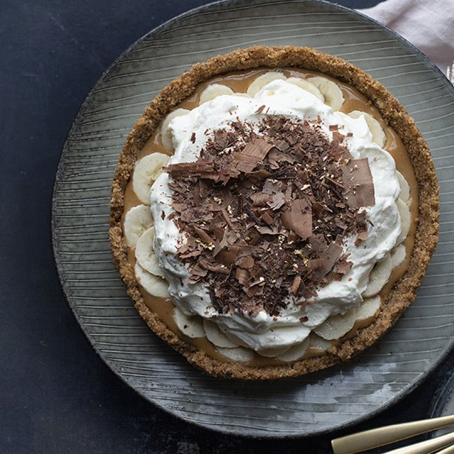 Jólalig banoffee pie