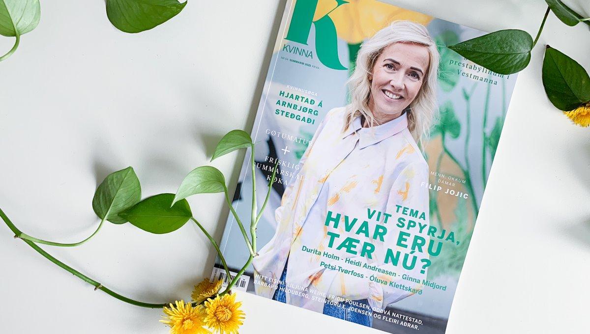 Nýggj Kvinna við fjølbroyttum og áhugaverdum tilfari