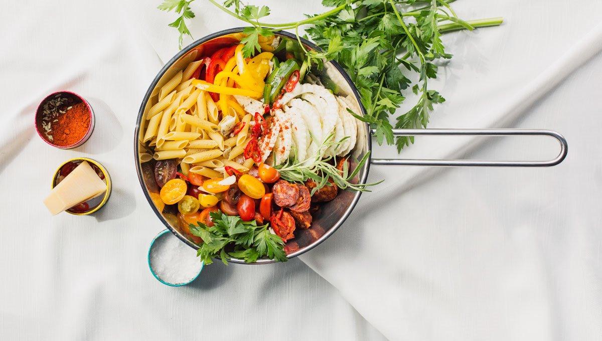 Lætt 'One Pot Pasta' við chorizo uppá 30 minuttir